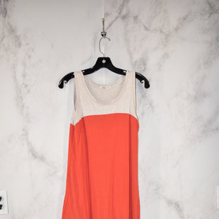Primary Photo - BRAND:    CLOTHES MENTOR STYLE: DRESS LONG SLEEVELESS COLOR: ORANGE SIZE: M OTHER INFO: AIKO SKU: 186-186217-312