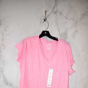 Primary Photo - BRAND: SONOMA STYLE: TOP SHORT SLEEVE COLOR: PINK SIZE: XL OTHER INFO: NEW! SKU: 186-186167-27208