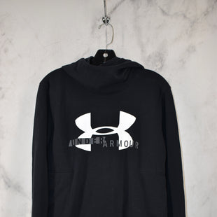 Primary Photo - BRAND: UNDER ARMOUR STYLE: ATHLETIC JACKET COLOR: BLACK SIZE: M SKU: 186-186217-7628