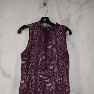 Primary Photo - BRAND: LOVE FIRE STYLE: DRESS SHORT SLEEVELESS COLOR: PLUM SIZE: L OTHER INFO: ROMPER SKU: 186-186217-7715