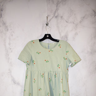 Primary Photo - BRAND:    CLOTHES MENTOR STYLE: DRESS SHORT SHORT SLEEVE COLOR: GREEN SIZE: S SKU: 186-186213-8274