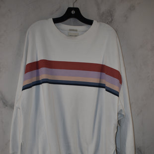 Primary Photo - BRAND: AMERICAN EAGLE STYLE: SWEATER LIGHTWEIGHT COLOR: WHITE SIZE: L SKU: 186-186230-38
