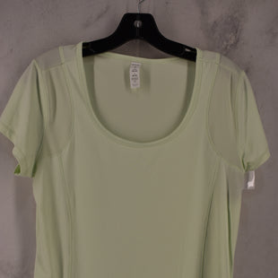 Primary Photo - BRAND: MARIKA STYLE: ATHLETIC TOP SHORT SLEEVE COLOR: LIME GREEN SIZE: M SKU: 186-186217-7214