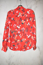 Photo #1 - BRAND: ANN TAYLOR LOFT <BR>STYLE: TOP LONG SLEEVE <BR>COLOR: RED <BR>SIZE: S <BR>SKU: 186-186167-25655