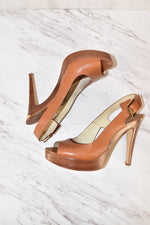 Primary Photo - BRAND: MICHAEL BY MICHAEL KORS <BR>STYLE: SHOES HIGH HEEL <BR>COLOR: CAMEL <BR>SIZE: 8 <BR>SKU: 186-186106-7463