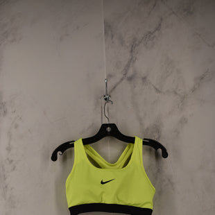 Primary Photo - BRAND: NIKE STYLE: ATHLETIC TANK TOP COLOR: NEON SIZE: M SKU: 186-186106-11881