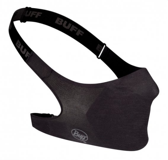 Buff Filter Mask - Solid Black