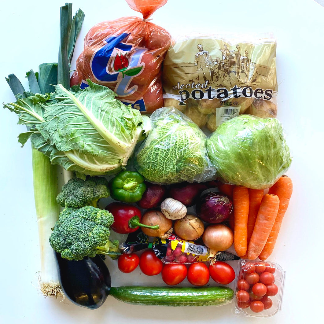 Family Mixed Vegetables & Salad Box