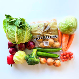 Standard Mixed Vegetables & Salad Box
