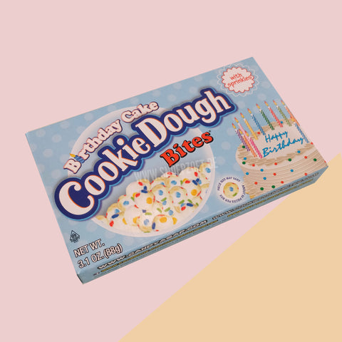 Cookie Dough Bites: Birthday Cake