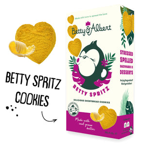 Betty Spritz Shortbread Cookies