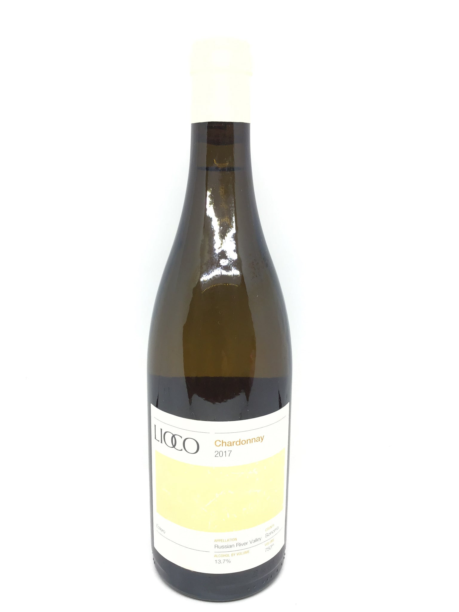 Lioco, 'Estero', Chardonnay, Russian River Valley, Sonoma County, California, 2017