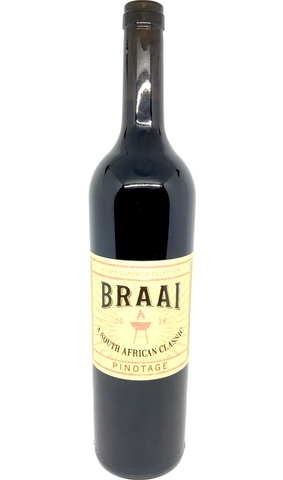 Cape Classics, 'Braai', Pinotage, South Africa, 2018