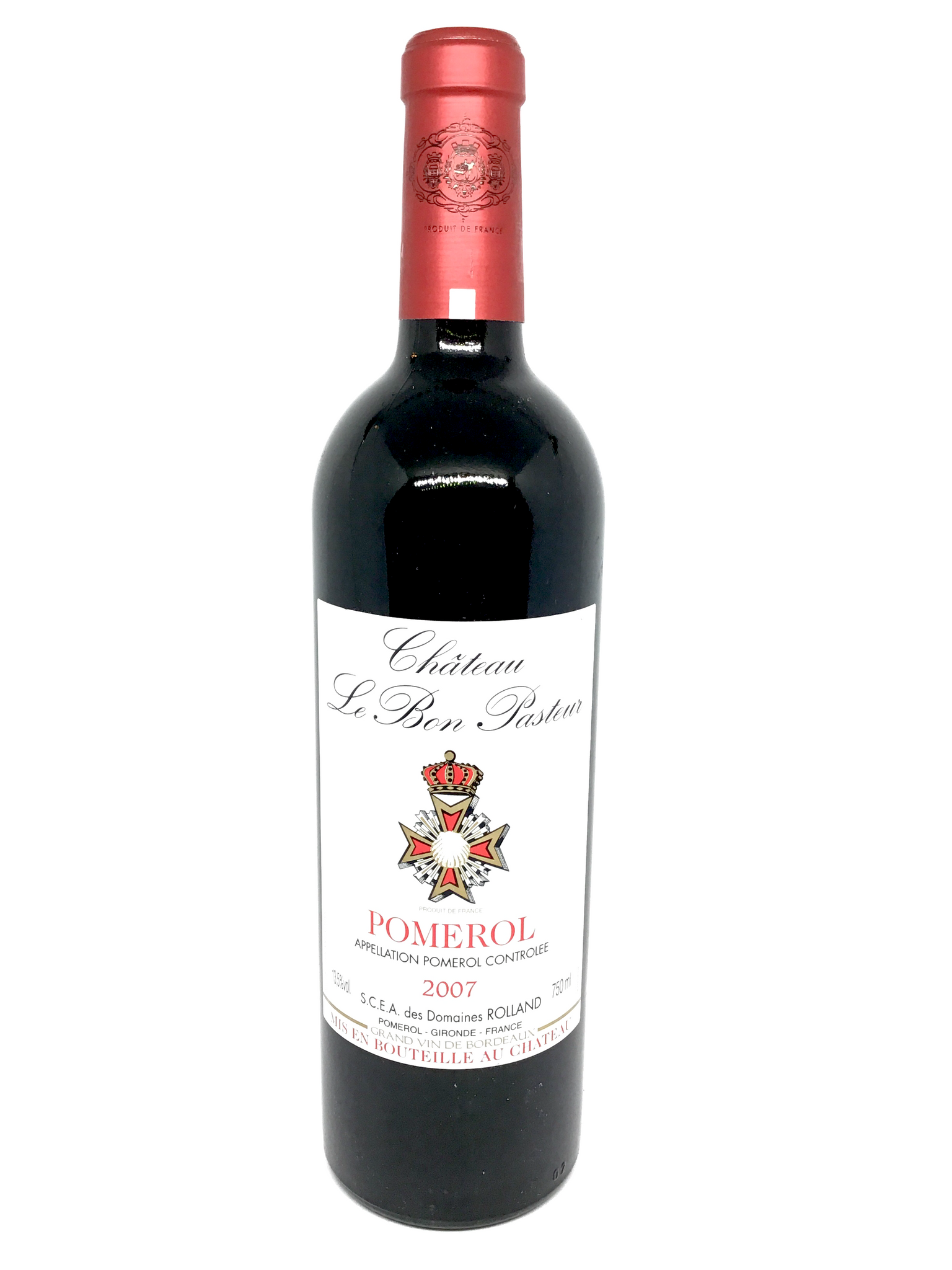 Château Le Bon Pasteur, Right Bank Blend, Pomerol, Bordeaux, France, 2007
