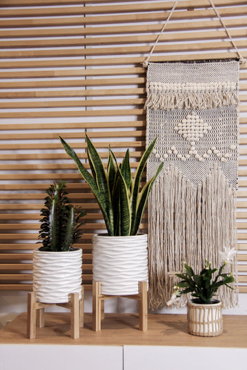 WHITE Wall Hanging