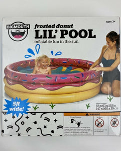 Kiddie Big Mouth Inflatable Frosted Lil' Donut