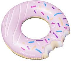 DONUT RING PINK OR BLUE