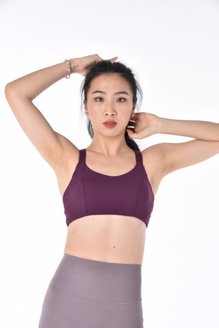 INTERLACE BRA TOP