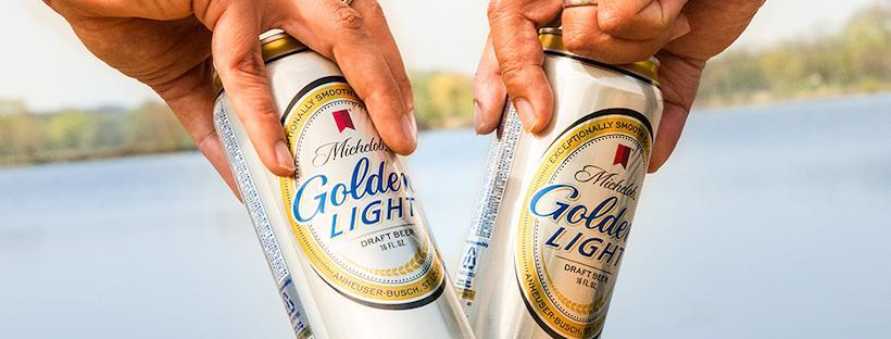 Michelob Golden Light Aluminum Cans