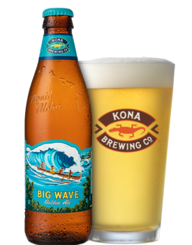 Big Wave Golden Ale Bottles