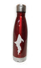 Insulated Stainless Steel Bottle Red Upper Peninsula
