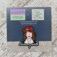Enamel Pin - I Know My Worth