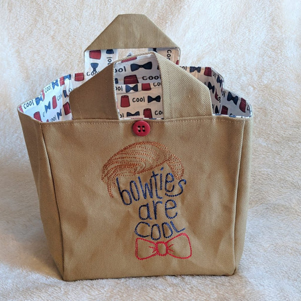 SMMS Grab & Go Tote - Bowties are Cool