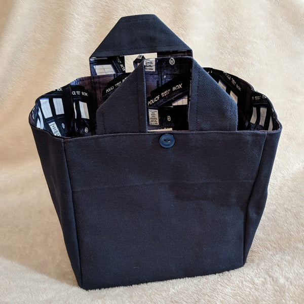 Grab & Go Pin Tote - Police Box