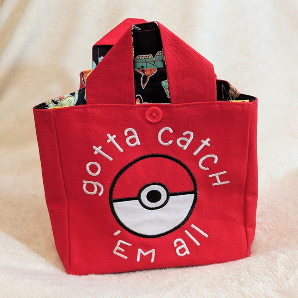 SMMS Grab & Go Tote - Catch 'Em All