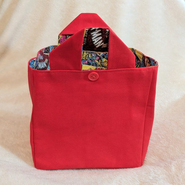 Grab & Go Pin Tote - Comic Books