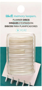 Anillas Disco Planner Perladas By We R Memory Keepers