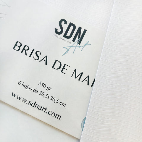 PACK 6 Unidades Papel Brisa de Mar By SDN