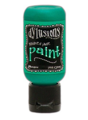 Dylusions Paint - Polished Jade by Ranger