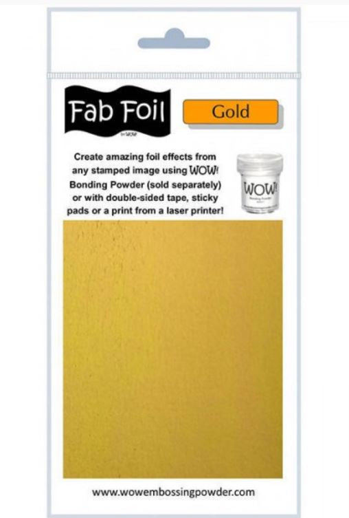 Foil Glitter Gold By WOW
