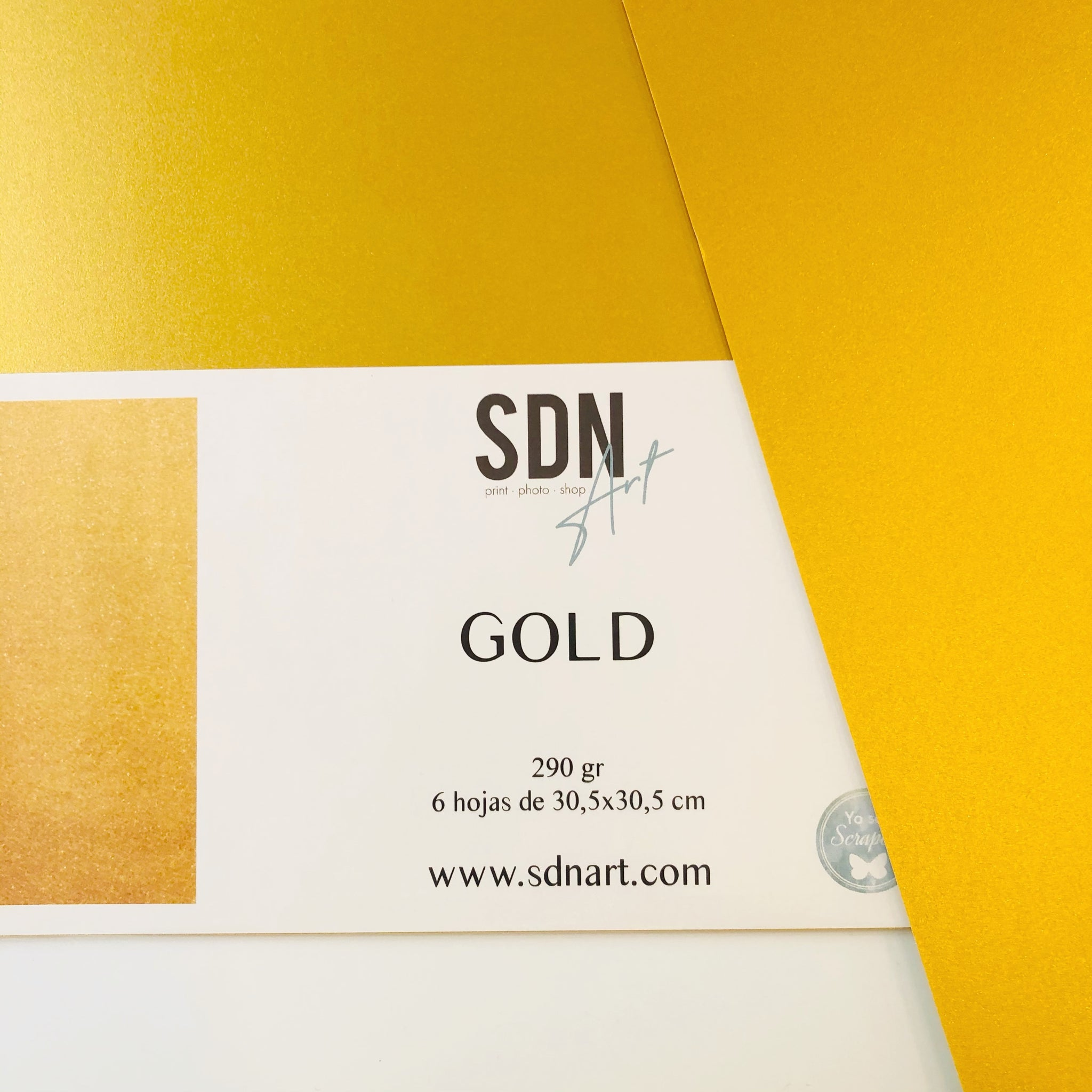 PACK Papel Oro (6 unidades) By SDN