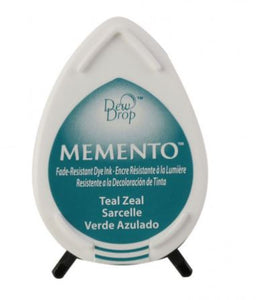 Teal zeal- MEMENTO Drop Ink
