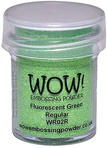 Polvos Embossing - FLUORESCENT GREEN By WOW