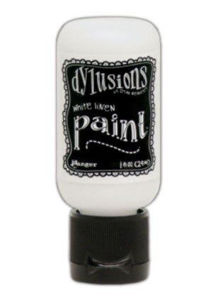 Dylusions Paint - White Linen by Ranger