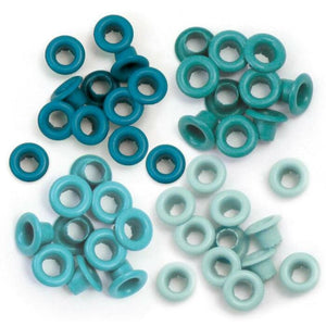 Pack Eyelets Verde Agua By We R Memory Keepers