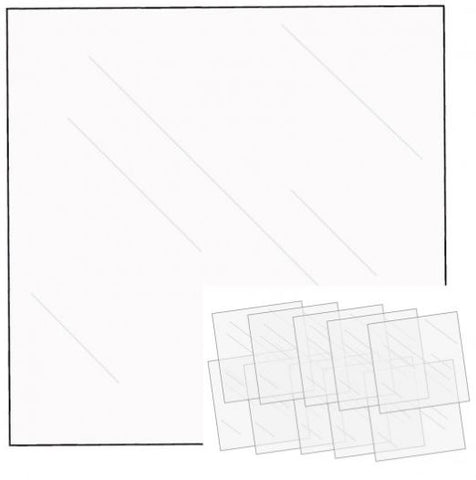 FUSEables Clear Sheets 10 pcs By We R Memory Keepers