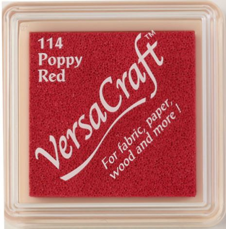 Poppy Red. VERSACRAFT Ink