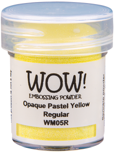 Polvos Embossing - Opaque Pastel Yellow By WOW