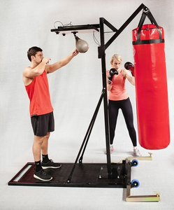 HIRE: SPEEDBALL & BAG WITH A STAND