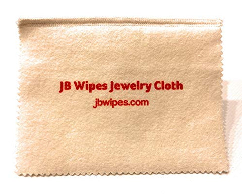JB Wipes Professional Jewelry Polishing Cloth- 4ply