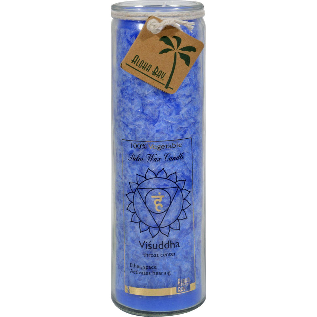Aloha Bay Chakra Jar Blue Candle - 17 Oz
