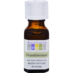 Aura Cacia Pure Essential Oil Frankincense - 0.5 Fl Oz
