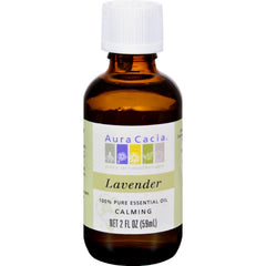 Aura Cacia Pure Essential Oil Lavender - 2 Fl Oz