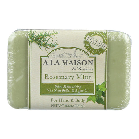 A La Maison Bar Soap - Rosemary Mint - 8.8 Oz