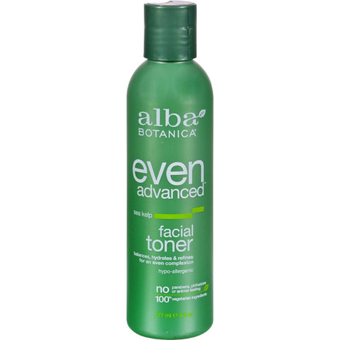 Alba Botanica Natural Even Advanced Sea Kelp Facial Toner - 6 Fl Oz