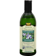 Avalon Organics Bath And Shower Gel Rosemary - 12 Fl Oz